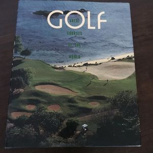 Golf coffee table book- great for Gift